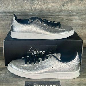 Adidas Originals Stan Smith Shoes Silver Original